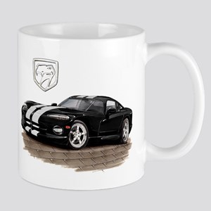 Viper Black/White Car Mug