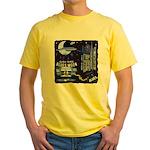 blues moon Yellow T-Shirt
