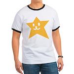 1 STAR SMILEY ORANGE Ringer T