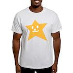 1 STAR SMILEY ORANGE Light T-Shirt