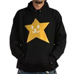 1 STAR SMILEY ORANGE Hoodie (dark)