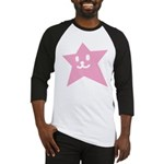 1 STAR SMILEY PINK Baseball Jersey