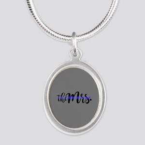 Thin Blue Line - The Mrs. Necklaces