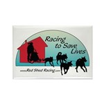 Red Shed Racing Rectangle Magnet (100 pack)