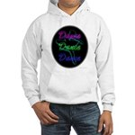 Neon Dancer Hooded Sweatshirt