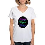 Neon Dancer Women's V-Neck T-Shirt
