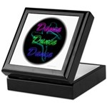 Neon Dancer Keepsake Box