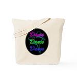Neon Dancer Tote Bag