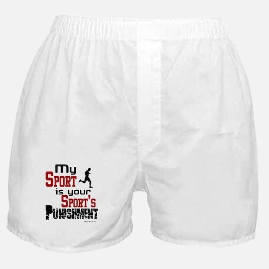 Your Sport's Punishment - Male Boxer Shorts