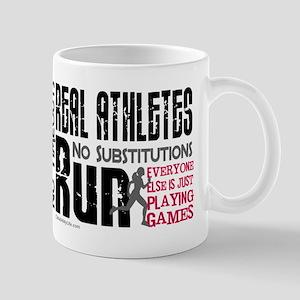 Real Athletes Run - Female Mug
