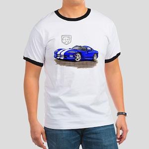 Viper Blue/White Car Ringer T