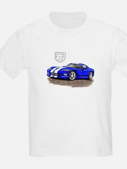 Viper Blue/White Car T-Shirt