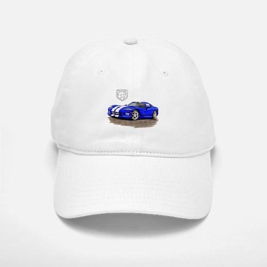 Viper Blue/White Car Baseball Baseball Cap