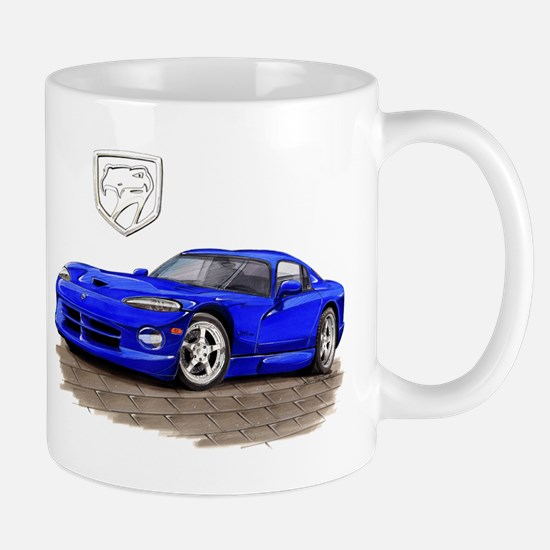 Viper Blue Car Mug