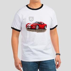 Viper Red/White Car Ringer T