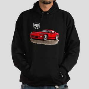 Viper Red Car Hoodie (dark)