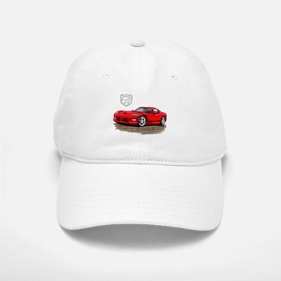 Viper Red Car Baseball Baseball Cap