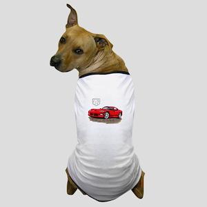 Viper Red Car Dog T-Shirt