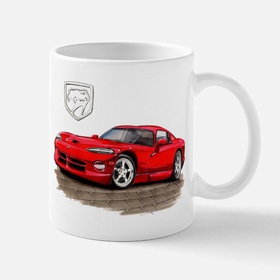 Viper Red Car Mug