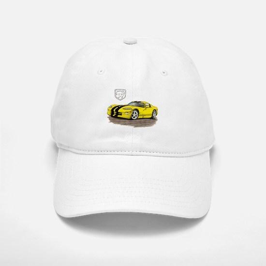 Viper Yellow/Black Car Baseball Baseball Cap