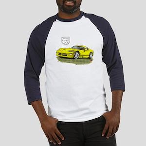 Viper Yellow Car Baseball Jersey
