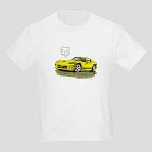 Viper Yellow Car Kids Light T-Shirt