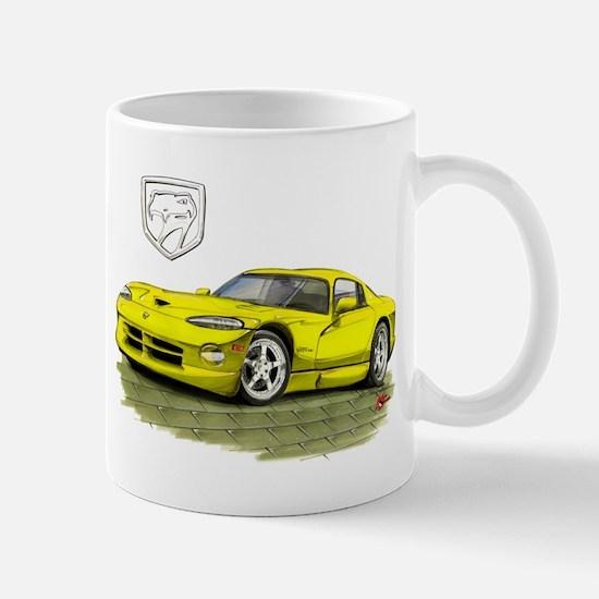 Viper Yellow Car Mug