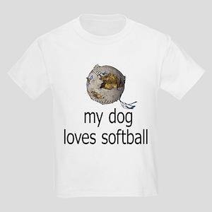 fc5022f37028 Softball Puppy Kids Clothing   Accessories - CafePress