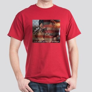 Protect Our President Dark T-Shirt