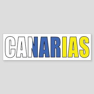 Canary Islands Bumper Sticker