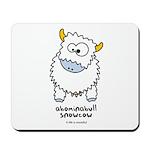 Abominabull Snowcow Mousepad