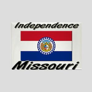 Independence Missouri Rectangle Magnet