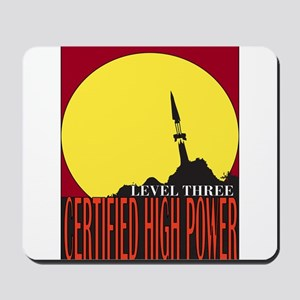 Certified High Power Level Th Mousepad