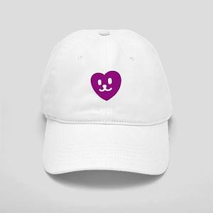 1 LOVE SMILEY PURPLE Cap
