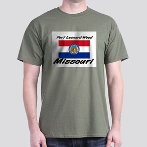 Fort Leonard Wood Missouri Dark T-Shirt