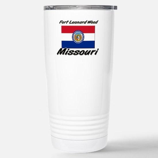 Fort Leonard Wood Missouri Stainless Steel Travel