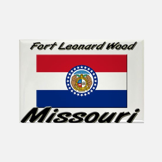 Fort Leonard Wood Missouri Rectangle Magnet