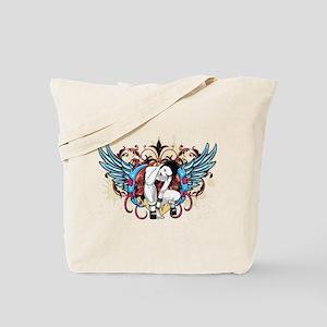 Goth Wings Tote Bag