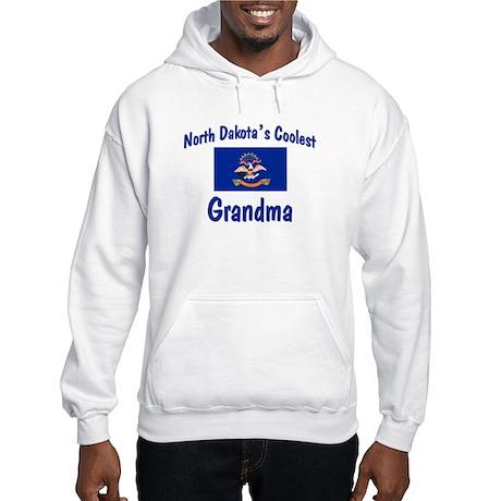 Coolest N Dakota Grandma Hooded Sweatshirt