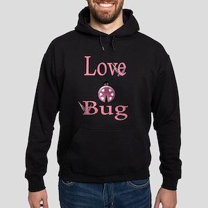 love bug pink Hoodie (dark)
