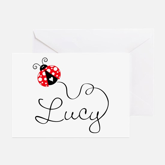 Ladybug Lucy Greeting Cards (Pk of 20)
