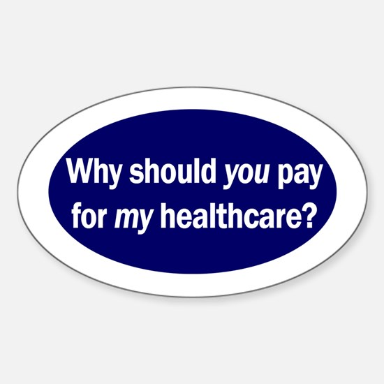 Healthcare Oval Decal