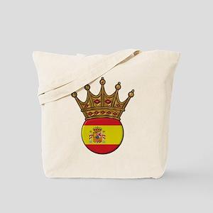 King Of Spain Tote Bag