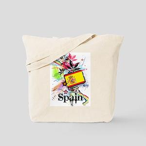 Flower Spain Tote Bag