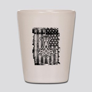 American Hammer Shot Glass
