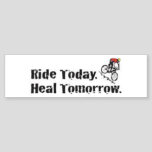 Ride Today Bumper Sticker