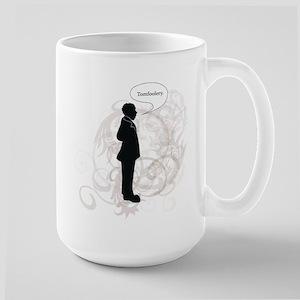 Mr.N. Says Tomfoolery Large Mug