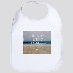This Is My Happy Place Baby Bib