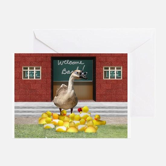 Cool Duck teacher Greeting Card