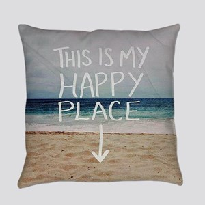 This Is My Happy Place Everyday Pillow